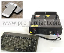 500mw RGB Text Laser Control By Mobile And Keyboard / cheap laser lights for sale