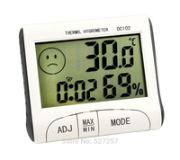 Digital thermohygrometer decorating house thermometer indoor outdoor Thermometer