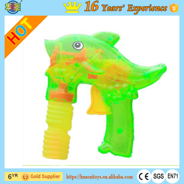 Best Bubble Gun Toys for Kids with Light Dolphin