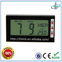Personal Use Lab Portable Digital Clock Calendar With Thermometer