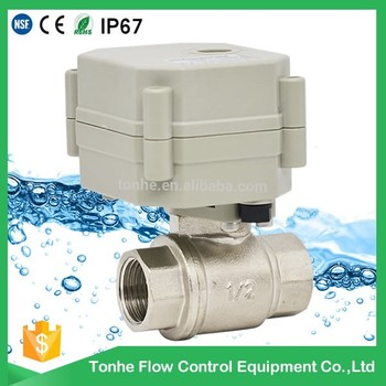 2-way electric control with actuator motorized valve