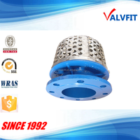 Ductile iron rose basket Strainer