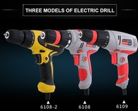 650W 10mm Electric Hand Drills Set 45pcs portable hand drill machine price, Professional Power tools