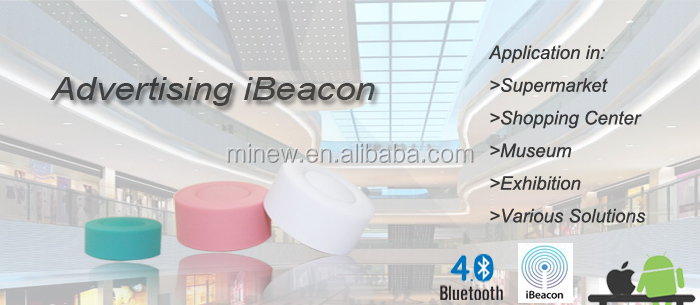 indoor location advertisements broadcaster nRF51822 chipset CE and FCC certificated bluetooth beacon ble beacon