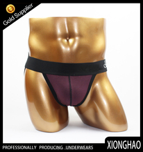 Factory OEM Various Sizes and Colors Blend cotton man sexy jocks