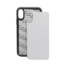 Blank Sublimation Phone Case 2D rubber silicon Cover for sublimation printing