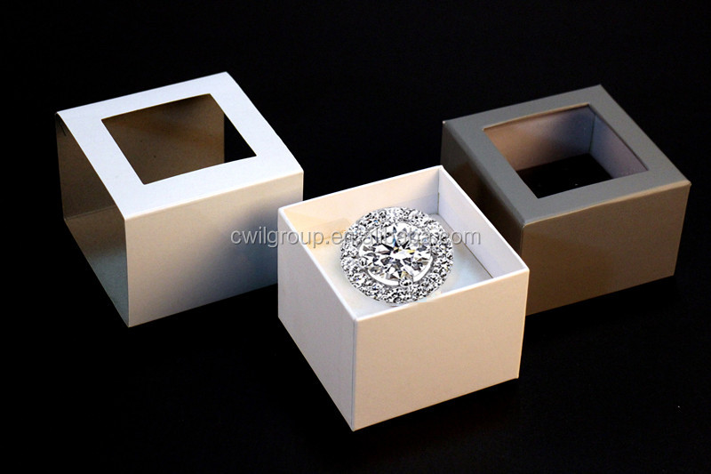 jewelry packaging box with window,watch packaging box