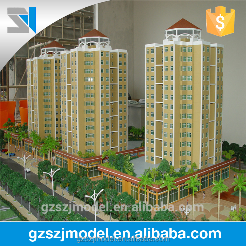 Residential building model plans and drawings _architectural models for sale