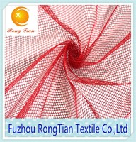 wholesale polyester hexagonal mesh fabric for sports shoes