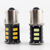 compare high lumen 5730 led double brighter than 5050 led 1156 1157 led bulbs signal