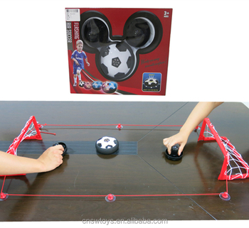 YD3207507 2018 world cup novel eletrical air hover football with goal mini game set
