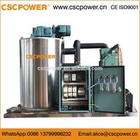 sf100 10T/day cscpowerCarbon Steel Materia Industrial Flake Ice Machine
