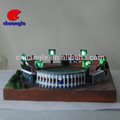 sports stadium construction model / architectural model building, scale building model
