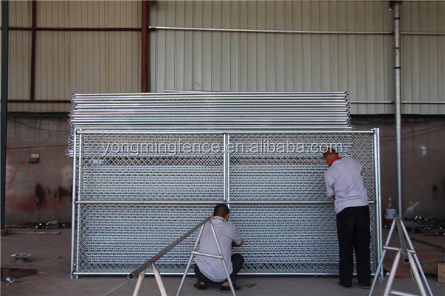 powder coated temporary chain link fencing for sale