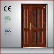 Made in China wood door mobile home security doors for new home