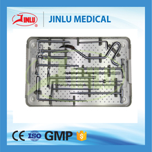High quality Anatomical design Tibial Interlocking Nails Instruments Kit,intramedullary nail system,medical device.