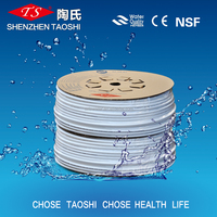 CE plastic water filter PE ro pe pipe for water supply