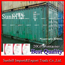 Low Price Old 20 High Cube Offshore Dry Cargo Well Closed Container For Sale