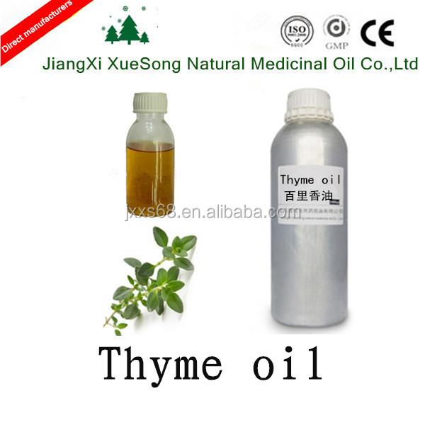 Best supplier of 100% natural & pure & high quality and purity Thyme oil with the price of thyme oil
