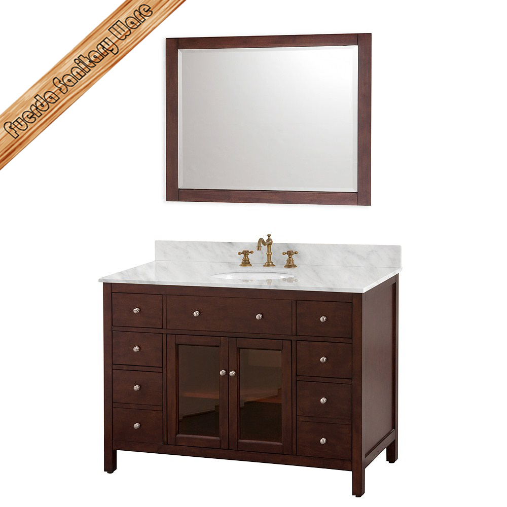 Bathroom Vanity With Cabinet On Top : Modern type bathroom vanity cabinet buy