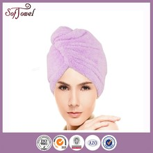 super absorbent polyester microfiber towel hair band