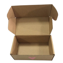 Plain kraft paper cartons corrugated box packaging box