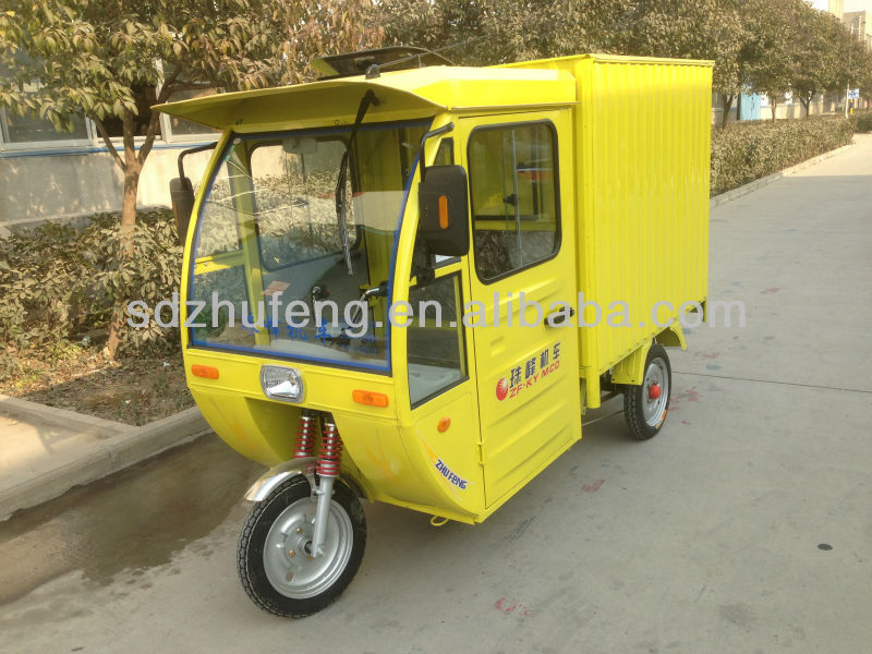 electric tricycle post cargo