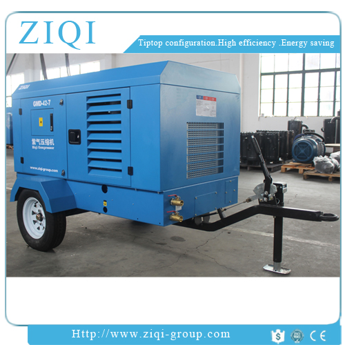 High Quality Used Portable Diesel Air Compressor Made In China