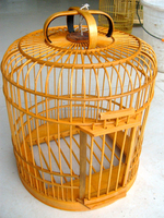 Birds Application and Eco-Friendly Feature wooden bamboo bird cage