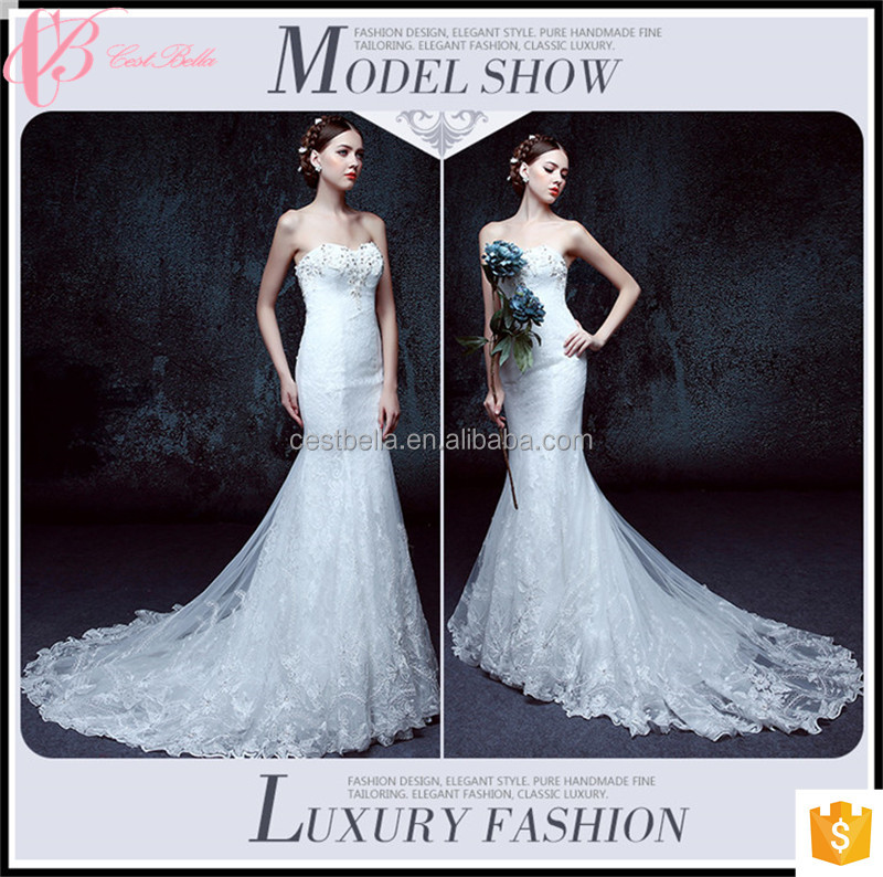 Online Sale Mermaid Bridal Affordable Wedding Dress