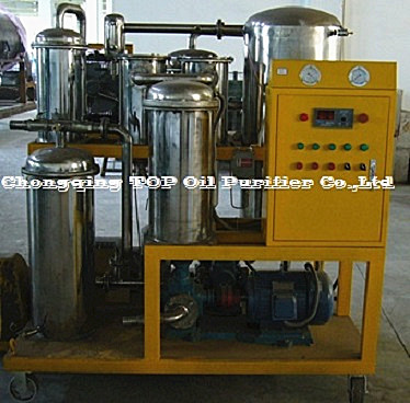 TOP Selected Stainless Steel Vacuum Phosphate Ester Fire-resistant Oil Multistage Filtration Unit, EHC Oil Processing Plant