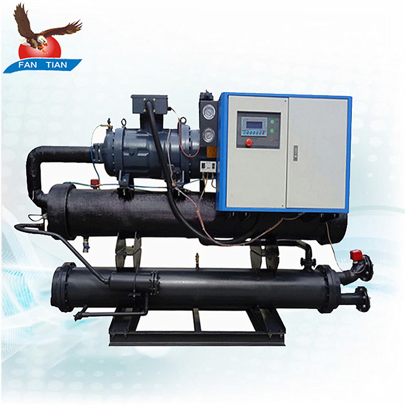 Hot Sale Hanbell Compressor 50 Ton Water Cooled Screw Chiller