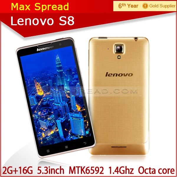 Original Lenovo S8 S898T+ Mobile Phone MTK6592 Octa Core Android Smartphone celular
