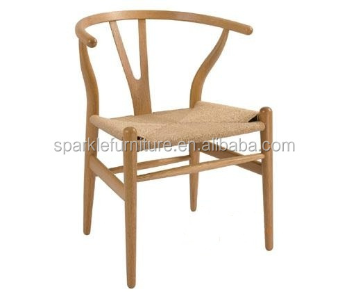 Modern hans wegner wooden Y chair living rome furniture