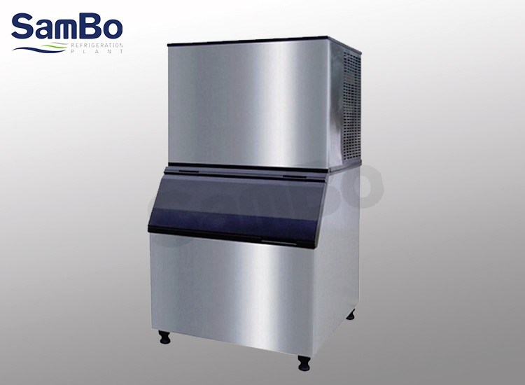 204kg/24H 500lb/d ice cube machine cuber ice for food and beverage services,drinks,clubs