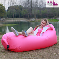 Hot sale comfortable hangout inflatable bean bag air sofa