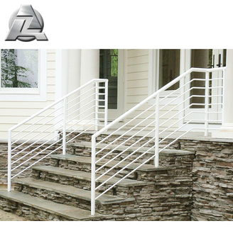 architectural aluminum pipe tube railing