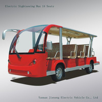 CE approved 14 seater cheap electric shuttle bus for sale wholesale and retail