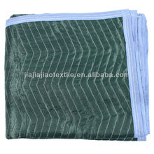 Quilted Polyester moving blankets/furniture Pads for movers/removals company