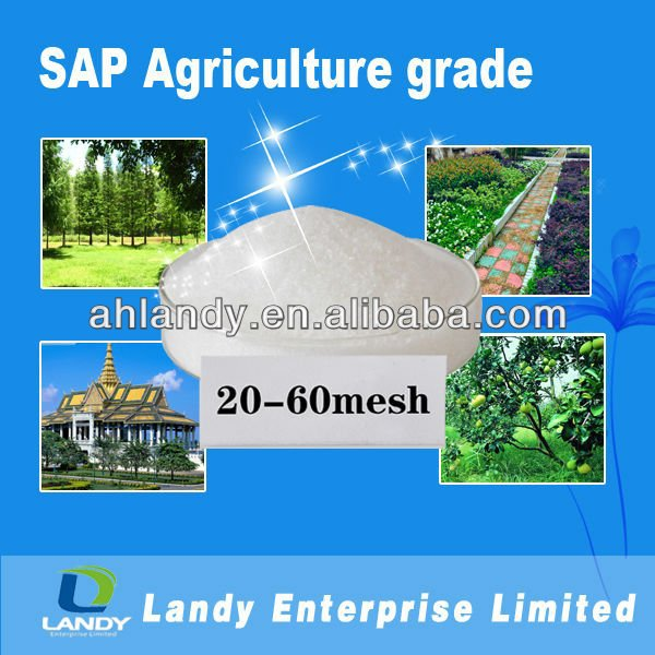 Super absorbent polymer for agriculture LD30 20-40mesh