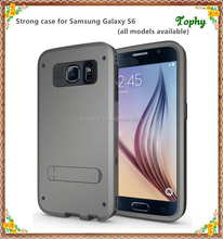 For Samsung S6 Cell Phone Cover,TPU+PC Protective Hard Case for Samsung S6