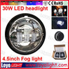 Factory price 4.5 inch round Motorcycle fog light for Harley Davidson