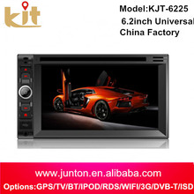 "hot selling GPS Navigation 2 Din 7"" Car Stereo DVD Player iPod Radio Bluetooth+Backup Camera"
