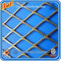 Best price expanded metal/galvanized expanded metal/expanded metal mesh machine China alibaba (Real Factory)