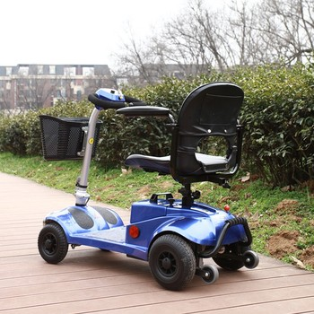Handicapped mini electric mobility motor scooter for for Motorized mobility scooter for adults