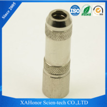 hot sale brass connectors rf l9 male 90 degree clamp flex-3 female din 1.6/5.6 rf coaxial connector bt3002