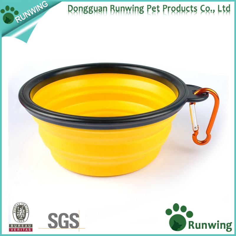 hot selling promotional cheap waterproof dog bowl pet silicon bowl
