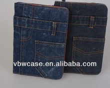 2014 for ipad mini case, casing for ipad mini, denim case for ipad mini