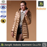2015 New Style Customized Outdoor Long China Down Jacket,Winter Apparel
