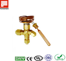 Automatic electrical thermal responsive expansion valve